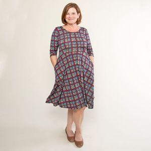 Karina Dresses Naomi S/M Plaid Perfection